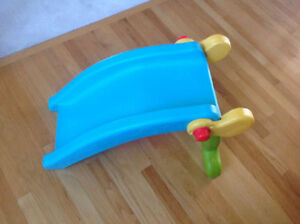 Rare find!Fisher Price 2 in1 Slide To Rocker Brand New Condition Strathcona County Edmonton Area image 3