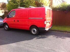 Red LDV Van