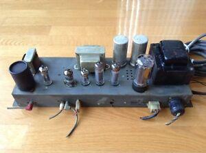 Ampli à lampes (vacuum tubes) Preamps Hammond reverb vintage