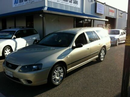 2007 Ford Falcon BF MK11 XT Gold 4 Speed Automatic Wagon Port Adelaide Port Adelaide Area Preview