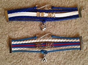 Beautiful Bracelets for any Blue Jays Fan!
