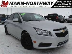 2013 Chevrolet Cruze LT Turbo | Rear View Camera, Cruise, Cloth.