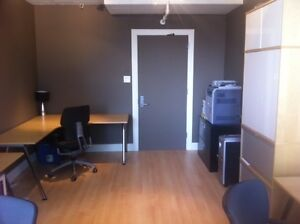 Furnished office space for rent - Utilities, Internet