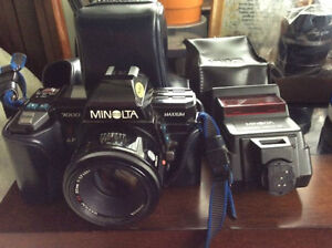 Minolta 7000 with AF 50mm 1.7 lens