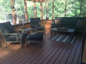 Ice Fish/Relax in Matlock 3 br vac rental w/hot tub