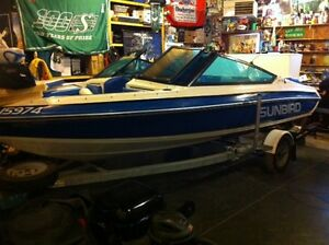 Sunbird SPL160 115hp outboard Johnson Very well Maintained!