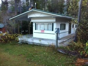 Castle Mountain Resort Mobile Home for rent.