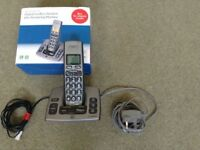 BT Freestyle 750 Digital Cordless Handset plus Answering Machine