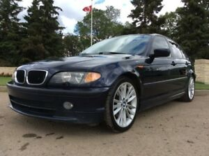 2005 BMW 325i, M///-SPORT, 5/SPD, LOADED, LEATHER, ROOF!