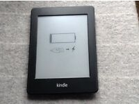 Kindle Paperwhite with built-in light and cover