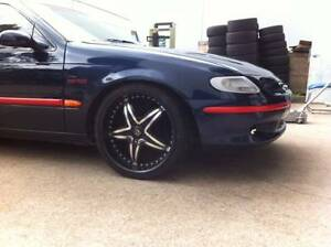 """4xUsed 20"""" Black wheels for Commodore, Ford,toyota2WD HILUX,Honda Girraween Parramatta Area Preview"""