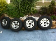 245 x 70 x 16 on Steel rims  x 5. Yamanto Ipswich City Preview