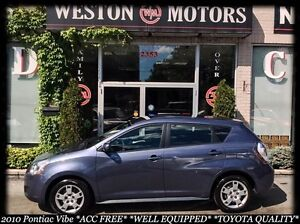 2010 Pontiac Vibe ACC FREE*AUTO*FINANCE HERE-100% APPROVED!!