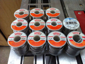 Stained Glass Solder Rosin Core 60/40 3mm 454 gr - $20/spool