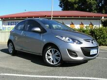 2011 Mazda 2 Neo Silver 5 Speed Manual Hatchback Gosnells Gosnells Area Preview