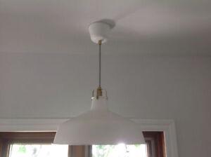 2 lampes IKEA - AUBAINE