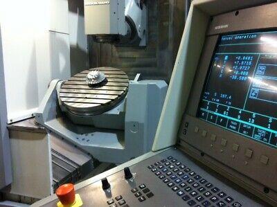 Deckel Maho Gildemeister Dmu-60p 5 Axis Cnc Vertical Machining Center