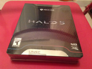 New Sealed Halo 5 Limited edition xbox one