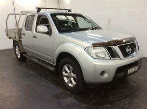 2012 Nissan Navara D40 ST (4x4) Silver 6 Speed Manual Dual Cab Pick-up Cardiff Lake Macquarie Area Preview