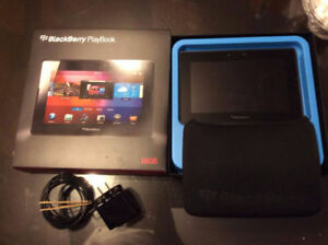 BlackBerry PlayBook Tablet. 16 GB ( Used only a few time)