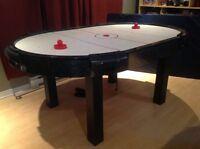 Table de hockey sur air, Idéal pour les PARTY ET BEER PONG !