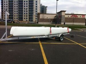 Nacra F18 Infusion hulls totally restored