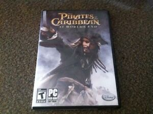Pirate caribbean at word's end
