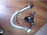QUALITY CHROME BATH TAP AND WASTE EXCELLENT USE CONDITION