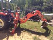 Tractor 3 point linkage backhoe attachment East Gippsland Preview