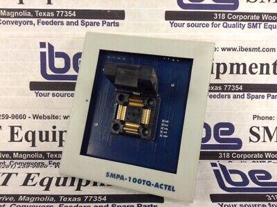 Microsemi Actel Programming Adapter - Smpa-100tq-actel Wwarranty