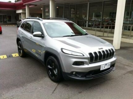 2015 Jeep Cherokee KL MY15 Blackhawk Grey 9 Speed Sports Automatic Wagon
