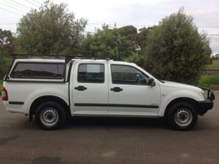 2003 Holden Rodeo RA LX White 5 Speed Manual Crew Cab Pickup Hoppers Crossing Wyndham Area Preview