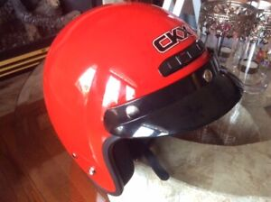 RED CKX Helmet, size=M, for motor cycle or snow mobile.