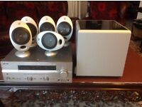 Yamaha Tuner Amplifier and Complete Keff surround sound system