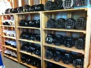 HOCKEY HELMETS/SKATING HELMETS - LR. SACKVILLE - $20 to $25 each