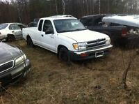 Parting out 1995-2004 Toyota Tacoma's