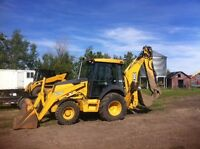 Cargo trailers, Dump trailers, Skidsteer, attachments, Backhoe