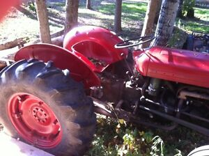 Early 1950 Massey Ferguson Tractor