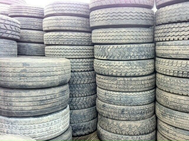 Truck tyres for sale - part worn commercial tyres for export