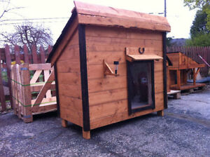 Large all-weather dog house