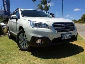2016 Subaru Outback B6A MY16 2.0D CVT AWD White 7 Speed Constant Variable Wagon Mandurah Mandurah Area Preview