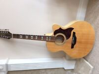 Takamine acoustic 12 string Guitar in excellent condition- Model EG523SC-12 -G Series