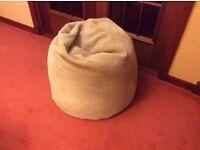 Bean bag- corded, large