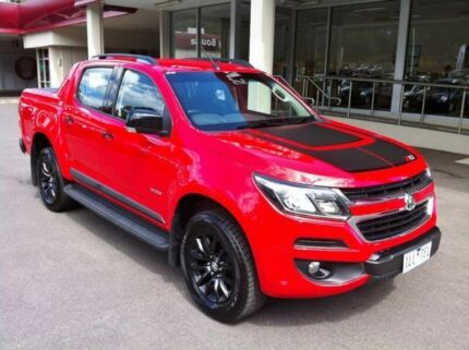 2017 Holden Colorado RG MY17 Z71 Pickup Crew Cab Red 6 Speed Sports Automatic Utility