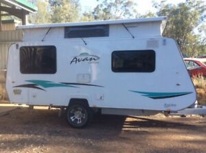 Caravan AVan Aspire 499 in as new condition.
