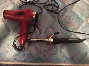 Hair Dryer and Curler