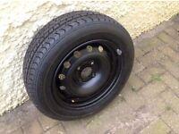 Brand new wheel and radial tyre. Riken 175 / 65 R 14