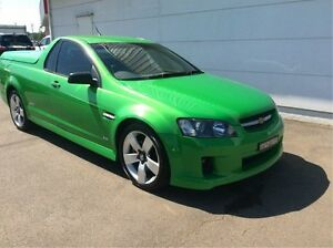 2008 Holden Ute VE SS V Green 6 Speed Sports Automatic Utility Cardiff Lake Macquarie Area Preview