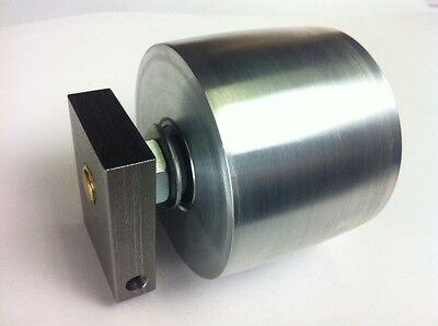 Belt Grinder Tracking Wheel For 2x72 Knife Making Grinder With Axle Mount