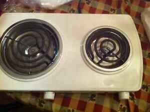 Double portable burner, used twice